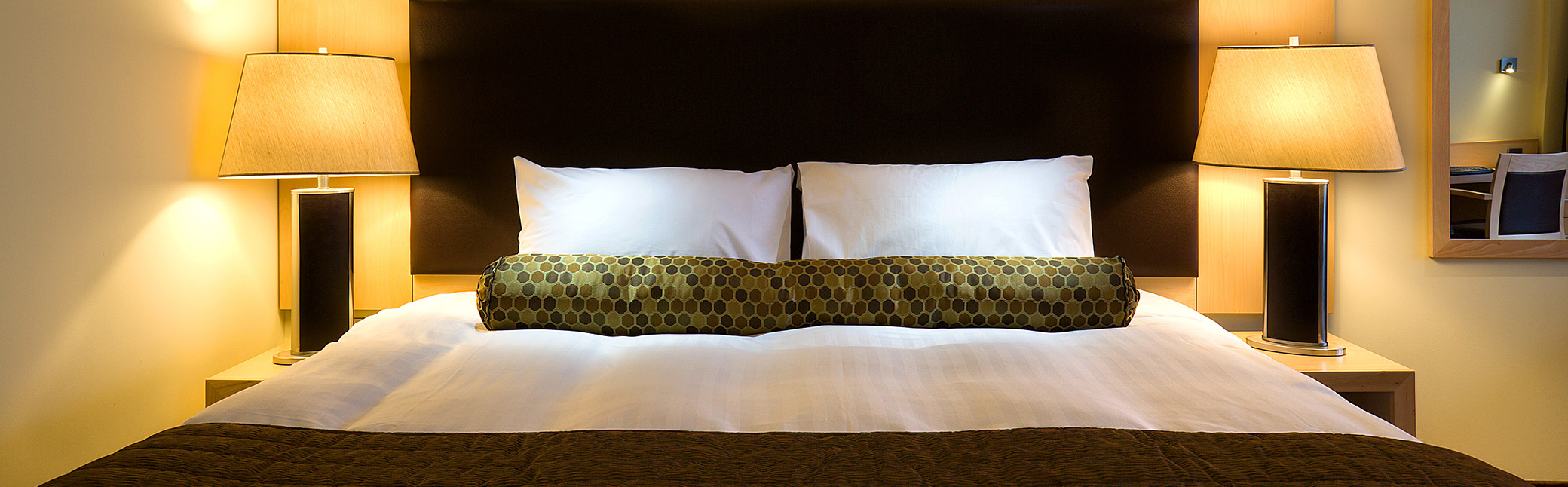 One of our luxury bedrooms.