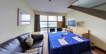 A suite at The Bay Hotel, Fife, Scotland